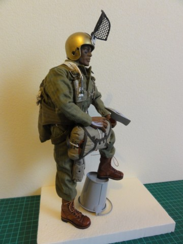 Collection stephan WWII para / medical / GI/ Smoke jumper/red skull Dsc03241