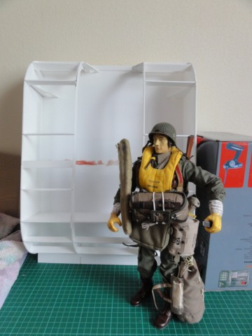 Collection stephan WWII para / medical / GI/ Smoke jumper/red skull Dsc03315