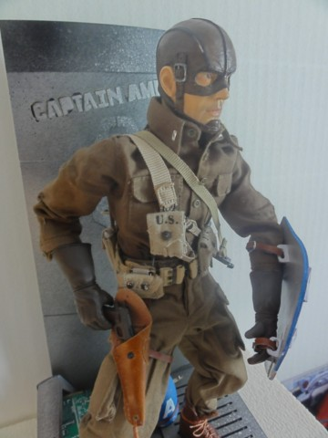 Collection stephan WWII para / medical / GI/ Smoke jumper/red skull Dsc05720