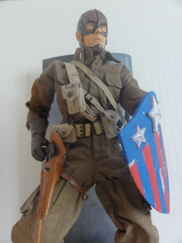 Collection stephan WWII para / medical / GI/ Smoke jumper/red skull Dsc05721