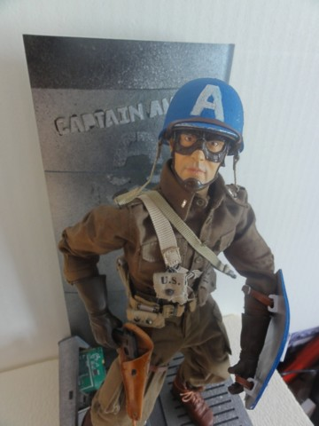 Collection stephan WWII para / medical / GI/ Smoke jumper/red skull Dsc05724