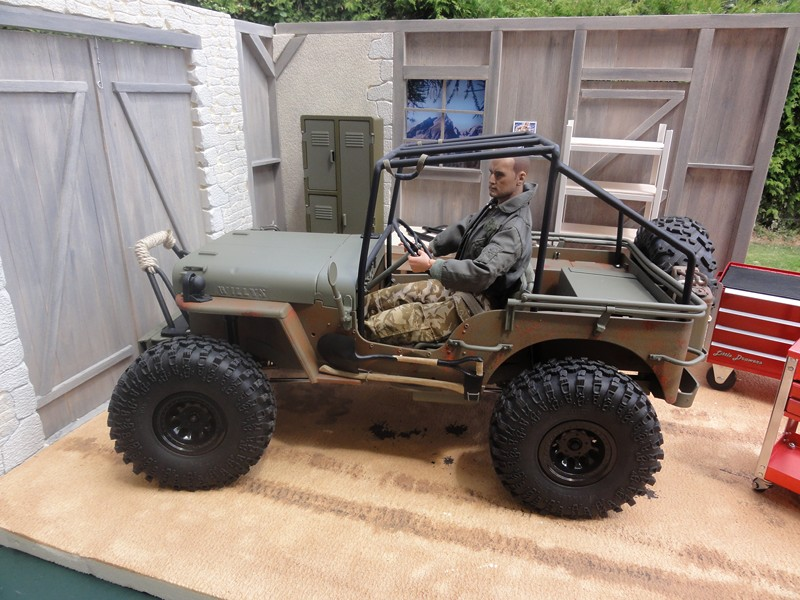 vends garage jeep et willys au 1/6 Dsc05821