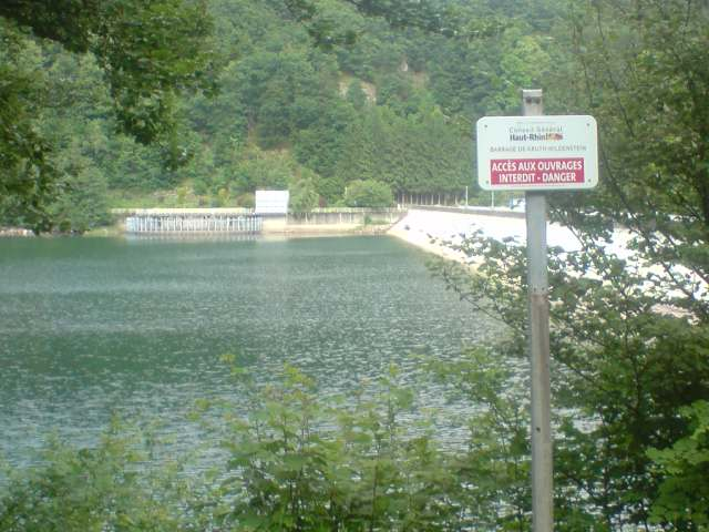 Lac - barrage de Kruth Wildenstein Dept68 Alsace Haut rhin P1906012
