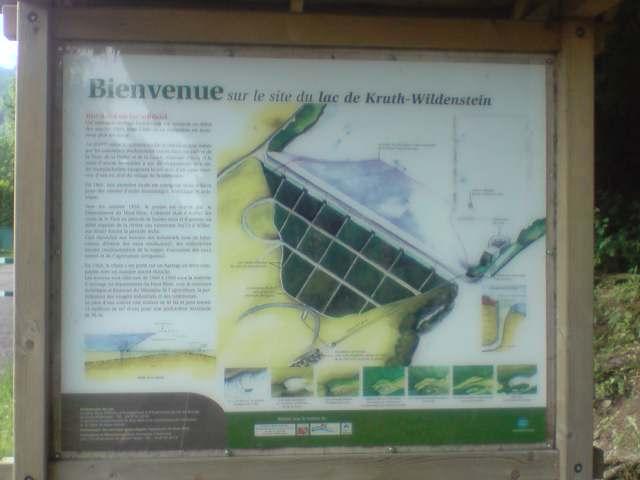 Lac - barrage de Kruth Wildenstein Dept68 Alsace Haut rhin P1906014