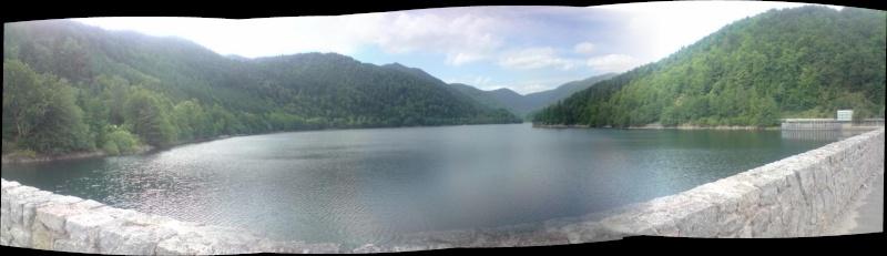 Lac - barrage de Kruth Wildenstein Dept68 Alsace Haut rhin Pano210