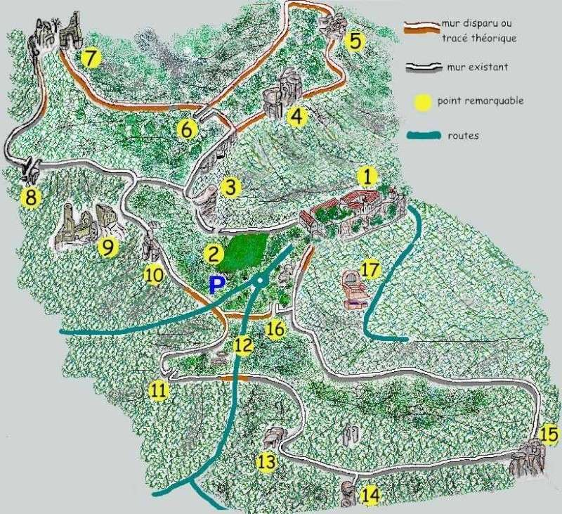 Mont sainte odile dept67 France Plan_m10