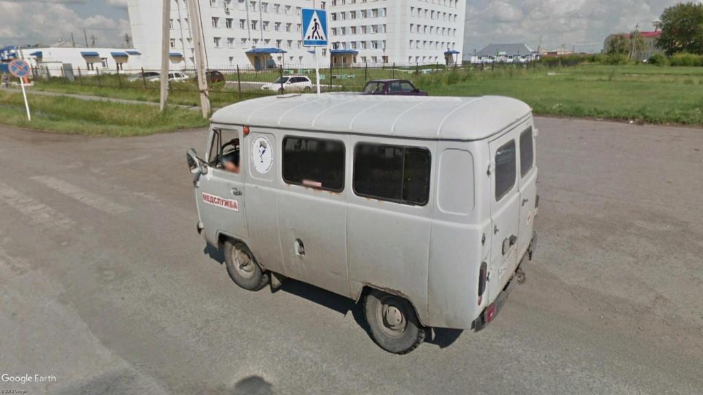 Ambulance UAZ 452, Tatarsk, Russie Ambula11