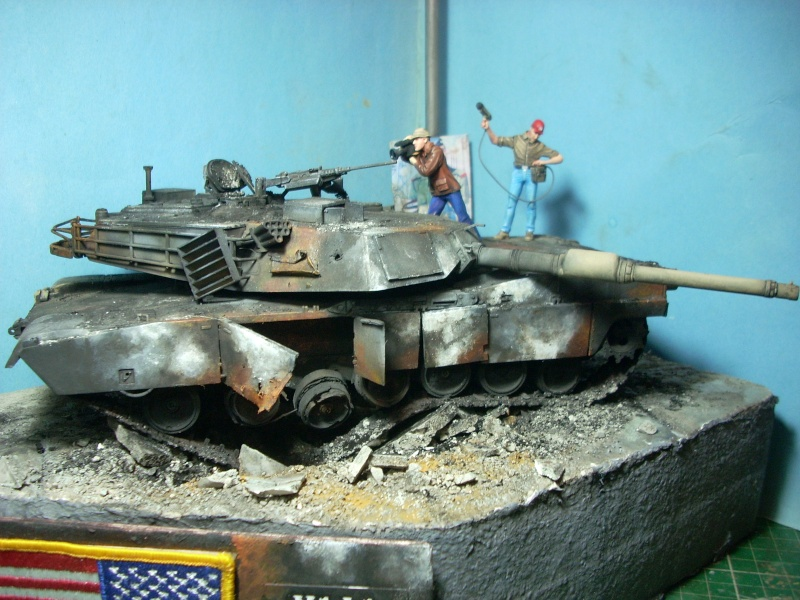 M1A1 ABRAMS 1/35 Trumpeter Abrams20