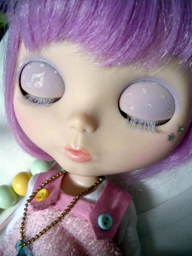 Pastel Bubble + Make-up de Coriandre Imgp4710
