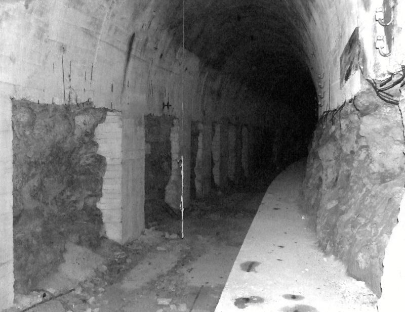 Stockage V2 et gare souterraine de de Méry sur Oise (95) Dscf8114
