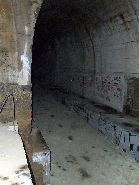 Stockage V2 et gare souterraine de de Méry sur Oise (95) Dscf8118