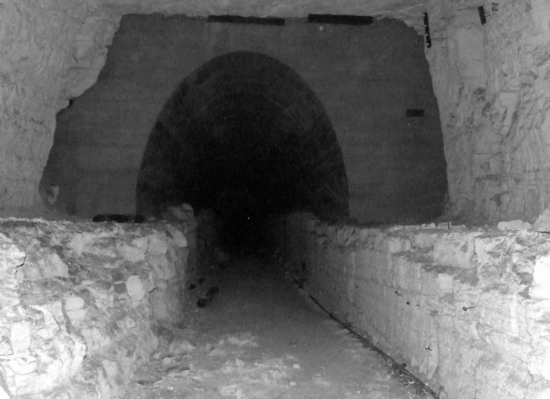 Stockage V2 et gare souterraine de de Méry sur Oise (95) Dscf8219