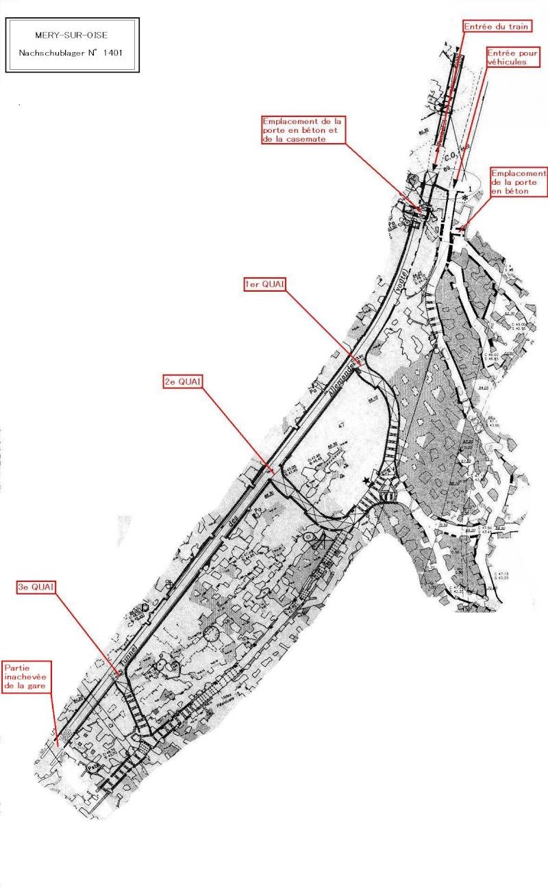 Stockage V2 et gare souterraine de de Méry sur Oise (95) Mery12
