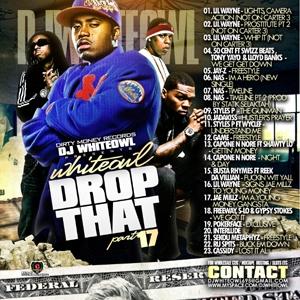 dj whiteowl / drop that vol 17 / 2008 00_cov14