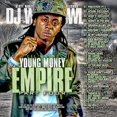 dj whiteowl & lil wayne / young money empire vol 4 / 2008 00_cov15