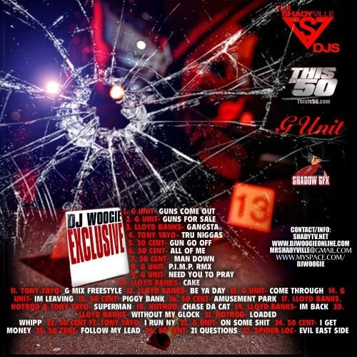 dj woogie / shots fired man down / (fuck buck mixtape) 2008 01_bac11