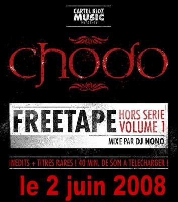 chodo / freetape hors serie vol 1 / (mixé by dj nono) 2008 Cover13