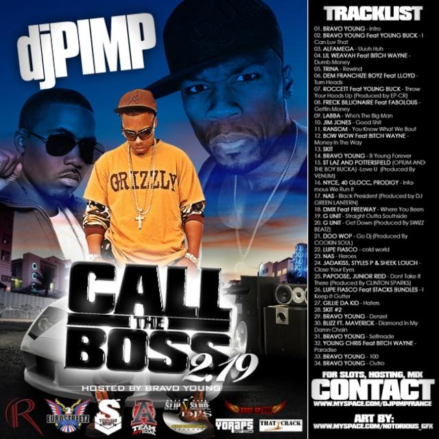 dj pimp / call the boss 2.19 / 2008 Cover_17
