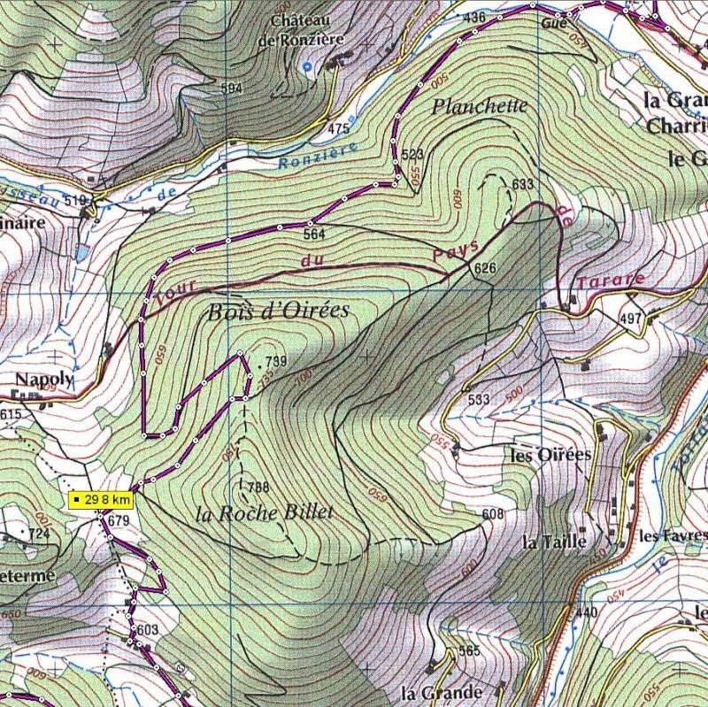 Brevet de course à pieds de 40 km. Vendredi 11 nov 2011. Mwsnap11