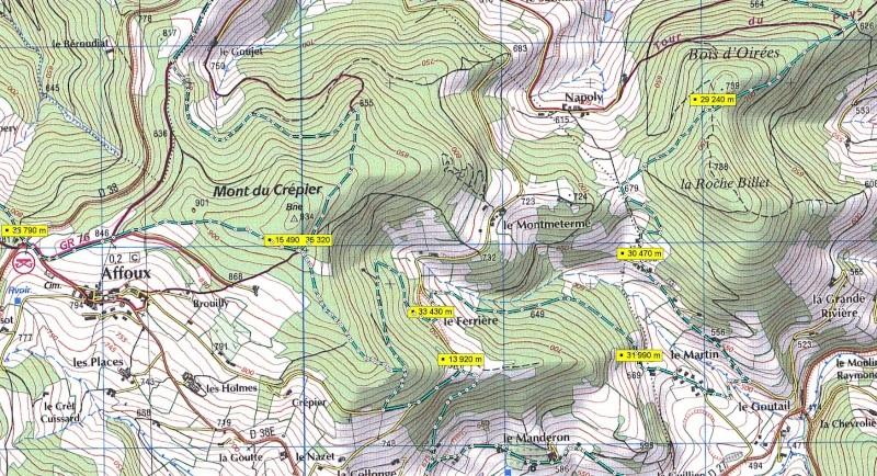 Brevet de course à pieds de 40 km. Vendredi 11 nov 2011. Mwsnap14