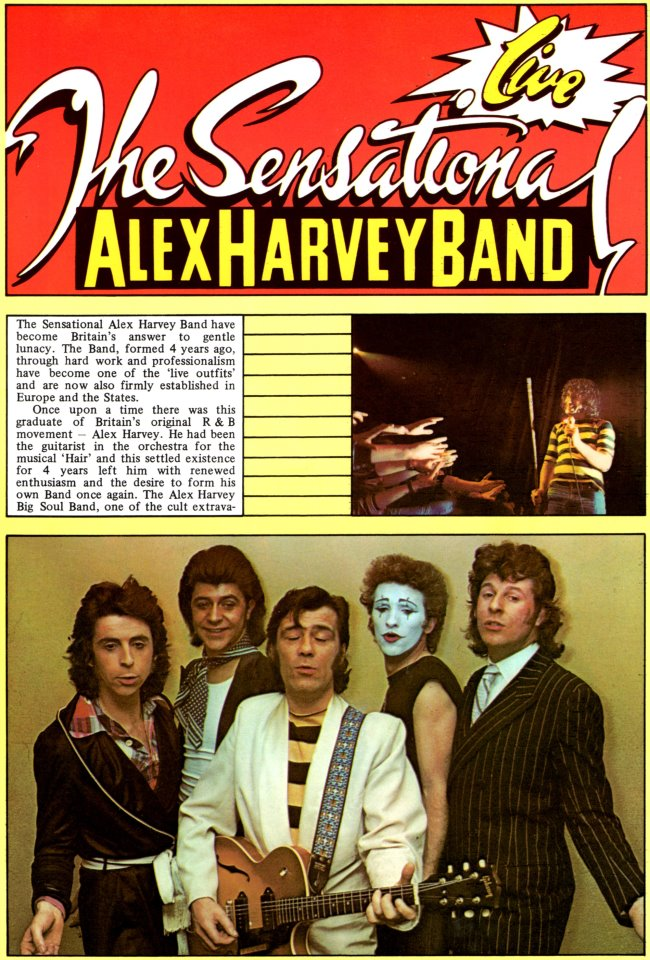 THE SENSATIONAL ALEX HARVEY BAND Alex317