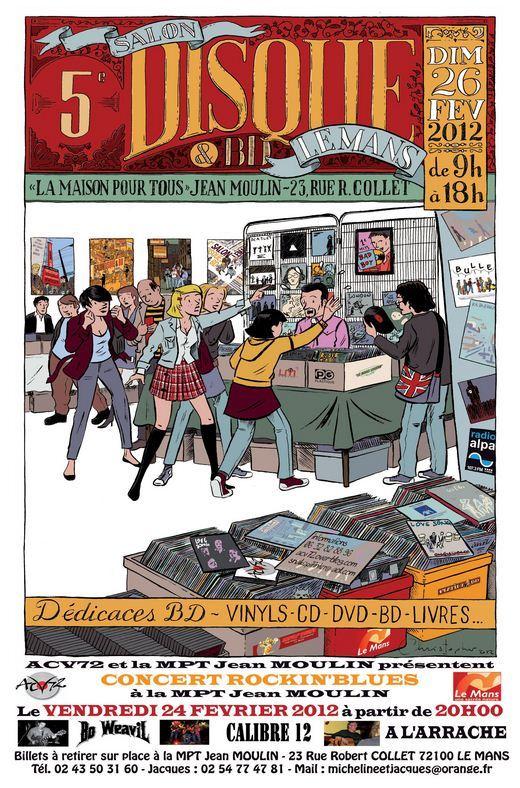Salons et  conventions de disques Collec10