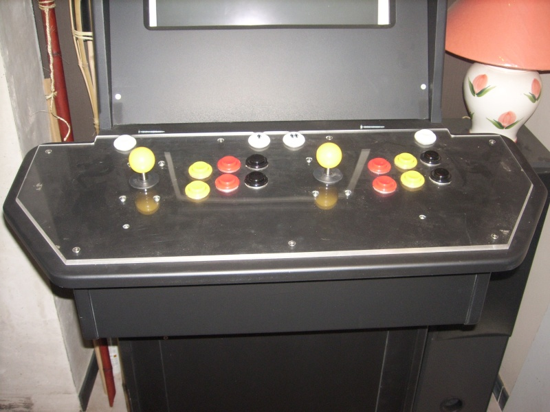 borne arcademame fabrication maison :-) Spa50010