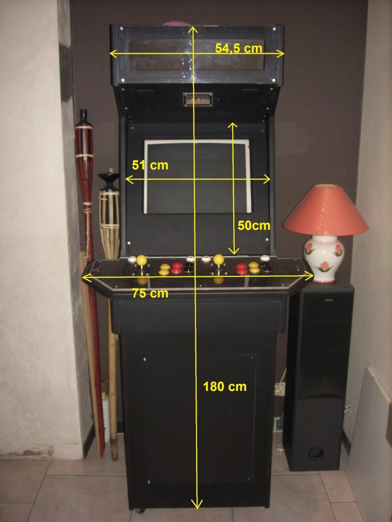 borne arcademame fabrication maison :-) Spa50011