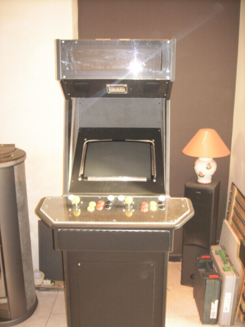 borne arcademame fabrication maison :-) Spa50113