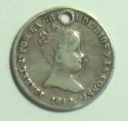 1 Real de Isabel II (Madrid, 1849) 1310_a10