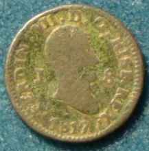 8 Maravedíes de Fernando VII (Jubia, 1817) [WM n° 7247, 7248, 7273, 7274] 248_a10