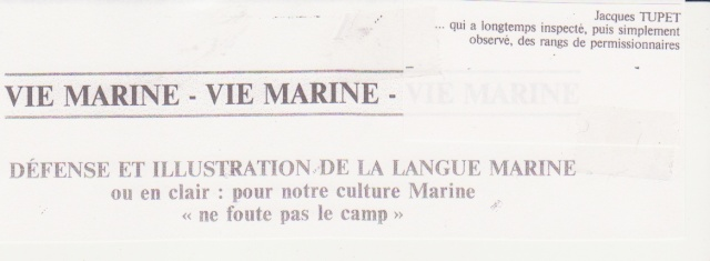 [Les traditions dans la Marine] Tenue dans la Marine- Tome 01 - Page 35 Top-0012