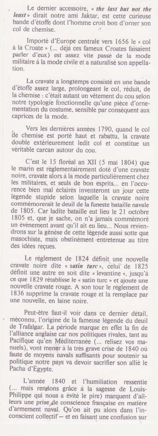 [Les traditions dans la Marine] Tenue dans la Marine- Tome 01 - Page 35 Top-0013