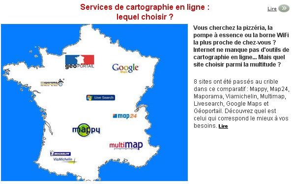 Services de cartographie en ligne : lequel choisir ? Cartog10