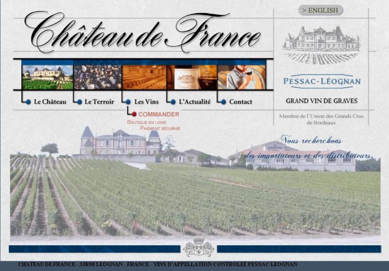 Le vignoble du Pessac Leognan Chate111