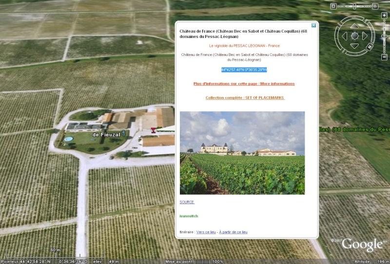 Le vignoble du Pessac Leognan Chatea59