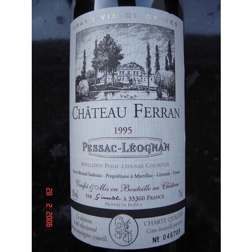 Le vignoble du Pessac Leognan - Page 2 Ferran10