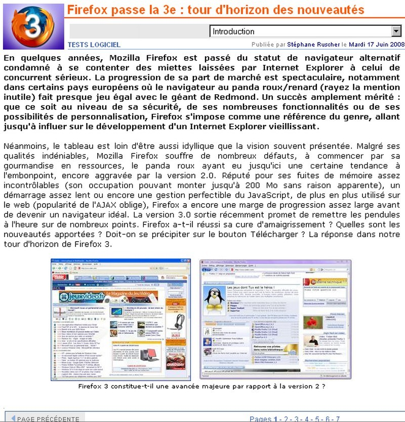Firefox 3.0 : les prémisses ... et son évolution ! - Page 3 Firefo11