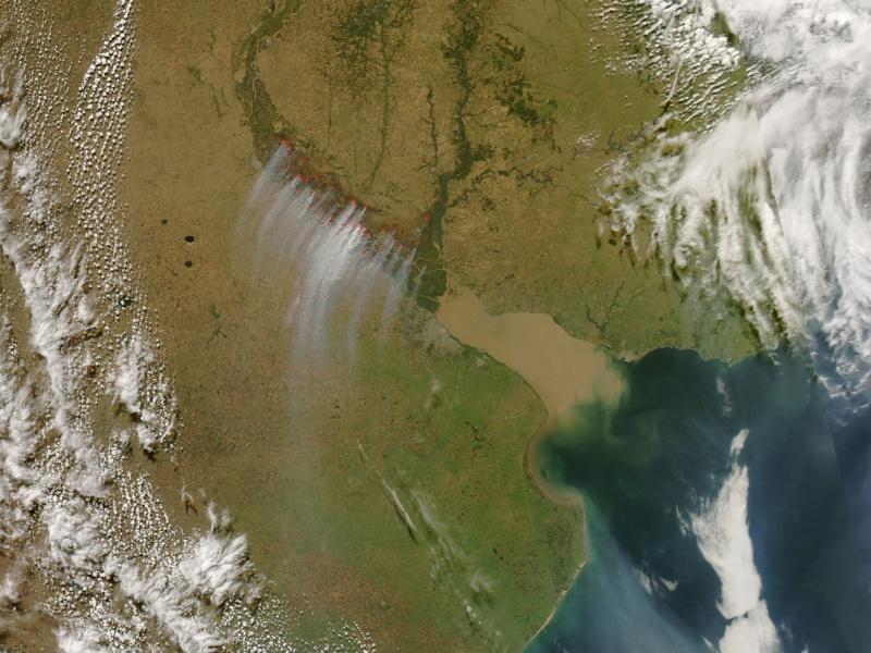 Earth Observatory - Images de la NASA Fumees10