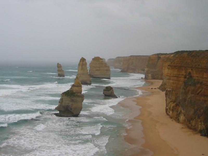 Twelve Apostles - Douze apôtres - Australie [Défi trouvé] Kesako10