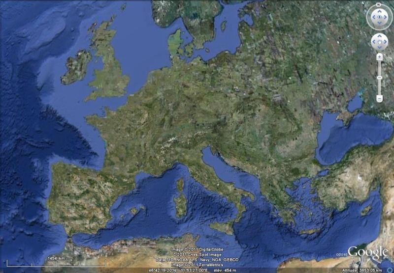 Overlay Global Terrain Map sur GE Sans_t49