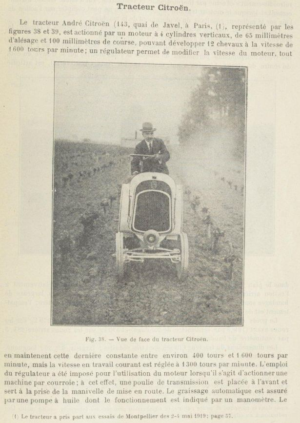 tracteur CITROËN Citroe37