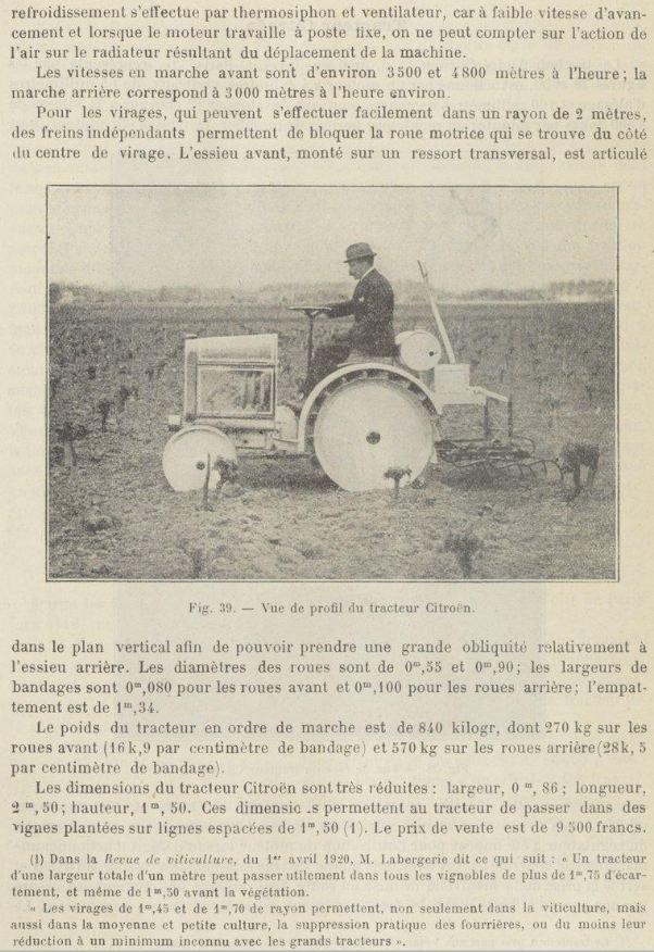 tracteur CITROËN Citroe38
