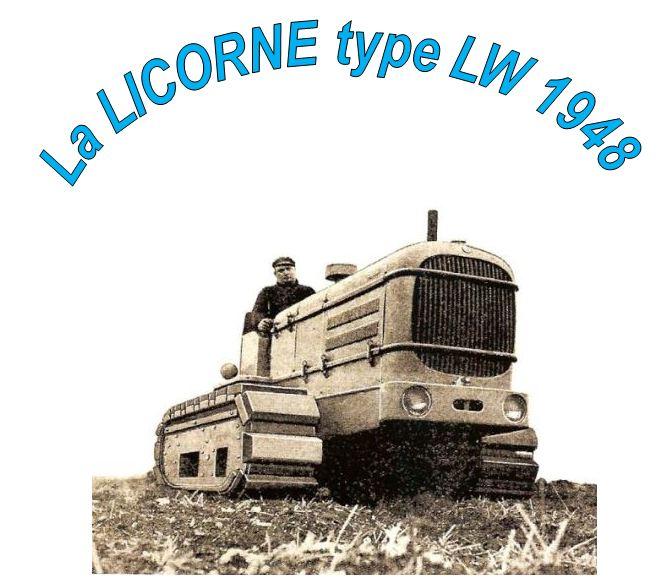 publicités du tracteur LICORNE Licorn44