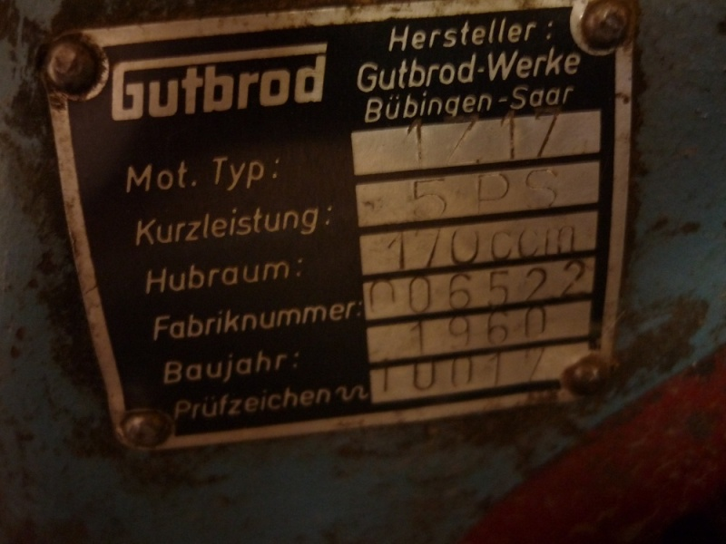 MOTOFAUCHEUSES GUTBROD Motost36
