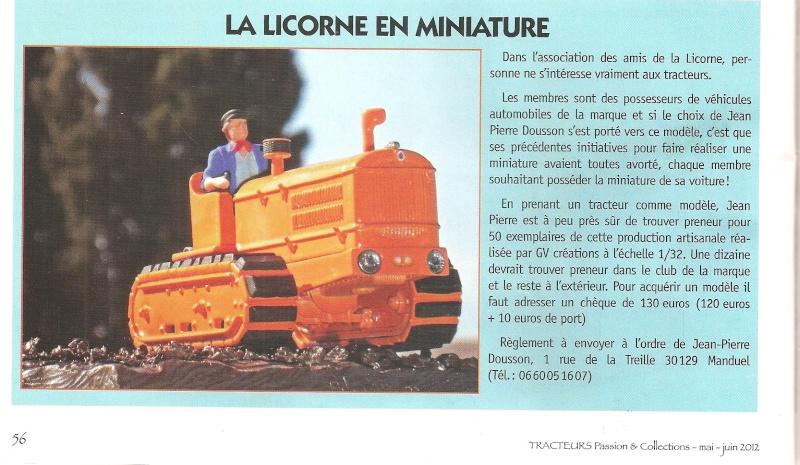 La presse spécialisée a causé du LW de LA LICORNE Tract109