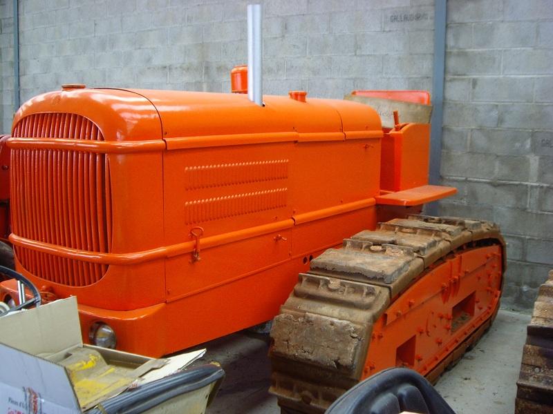Tracteur LW de la Licorne : photos du seul rescapé connu Tracte78