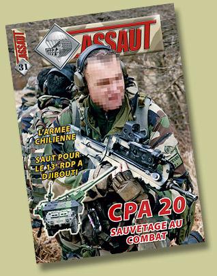 """Magazine """"RAID"""" Assaut10"""