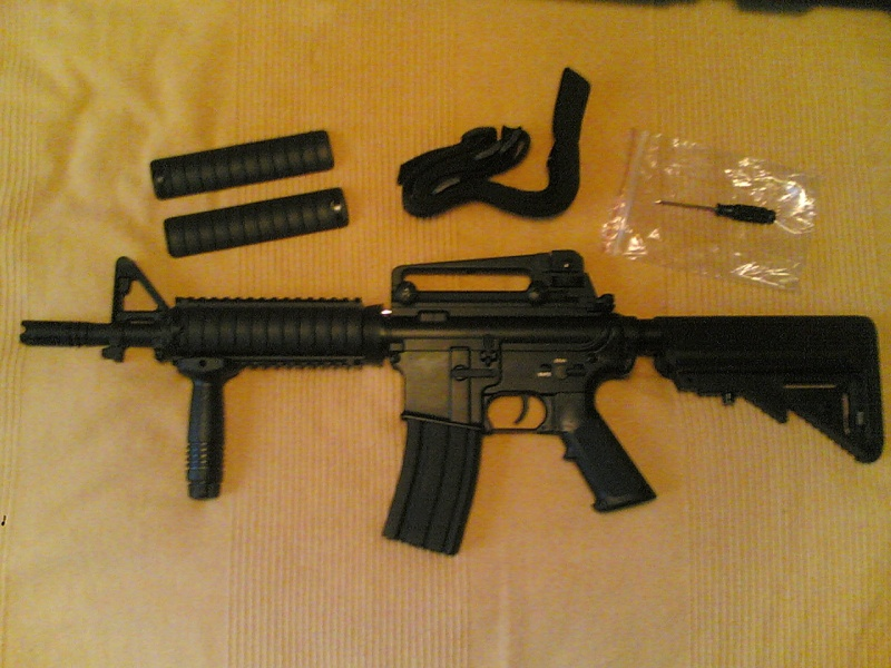 [Review] D-Boy BI-3981 M4 Cqb / Ris  (Metal Body 2009) M4_cqb11