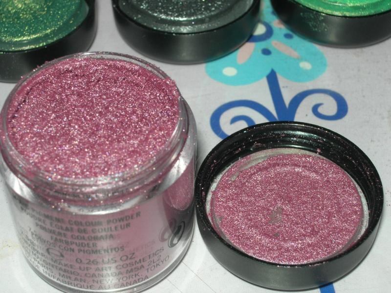 Poudre éclat de couleur (Pigments) Pinked10